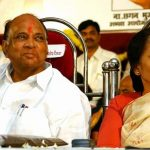 Sharad Pawar with his wife Pratibhatai Pawar