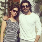 Sharad Malhotra with his sister Reema Parhwa