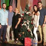 Shaun Marsh with his family