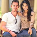 Shaun Tait with his wife