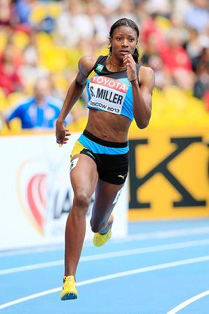 Shaunae Miller Running