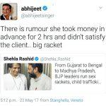 Shehla Rashid Twitter Row