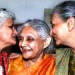 Sheila Dikshit with her sisters