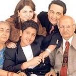Shekhar Suman with his family