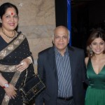 Shilpa Shetty's family (mother, father, sister)
