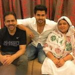 Shoaib With his Parents