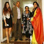 Shraddha Sharma with family