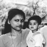 Shreyas Iyer childhood pic with his mother