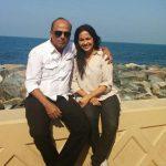 Shubhangi latkar with her husband