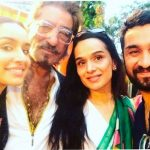 Siddhanth Kapoor with his family