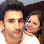Sidhant Gupta with his mother