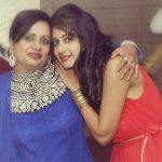 Simran Sehgal with her mother