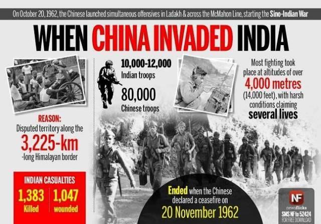 Sino-Indian War 1962