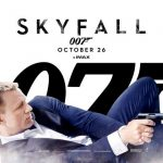 Skyfall Movie poster James Bond Daniel Craig 2012