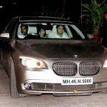 Sonam Kapoor BMW 7 Series