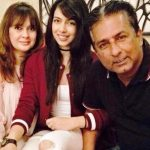 Sonika Chauhan with her parents
