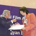 Sonu Nigam and A. P. J. Abdul Kalam