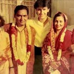 Sonu Nigam with his family