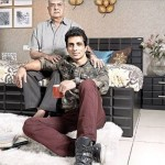 Sonu Sood with his father