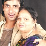 Sonu Sood with his mother