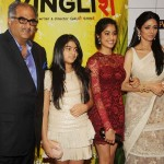 Sridevi with her family