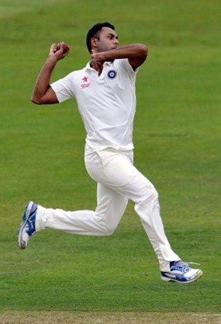 Stuart Binny bowling