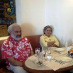 Subir Gokaran with his wife Jyotsna Bapat