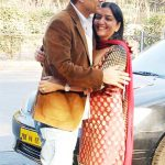 Sudesh Berry with his wife Sarita Berry