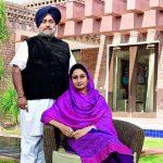 sukhbir-singh-badal-with-wife