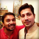 Sumeet Vyas with Namit Das