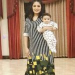 Sunidhi Chauhan with her son