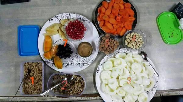 Sunit Jadhav diet
