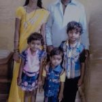 Sunny Pawar with his Parents and Siblings