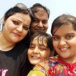 Swasti Nitya with her family