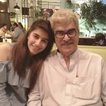 Syra Yousaf with her father