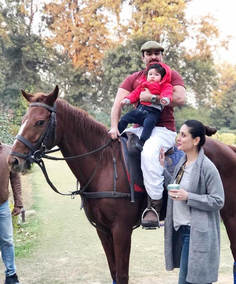 Taimur Ali Khan in December 2017