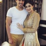 Tanvi Vyas with her boyfriend