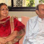 Tarak Mehta with his 2nd wife Induben