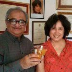 Tarak with his Wife Nargis