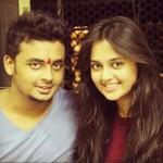 Tejaswi Wayangankar with her younger brother Pratik