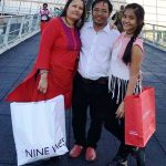 Teriya Magar with her parents