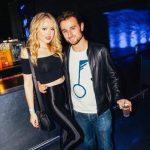 Tiffany Trump with her boyfriend Ross Mechanic