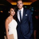 Tim Southee with his wife