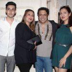 Sunita Ahuja with her husband and children