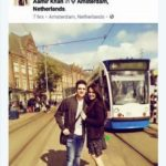 Athar Aamir Khan and Tina Dabi foreign trip in 2016