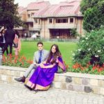 Tina Dabi and Athar Aamir Khan in Mussoorie
