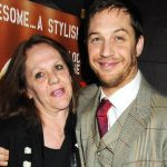 Tom Hardy with his mother Anne Hardy