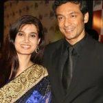 Tota Roy Chowdhury with his Wife