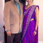 Tris Dhaliwal with her father