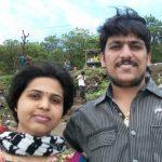 Trupti Desai with her husband